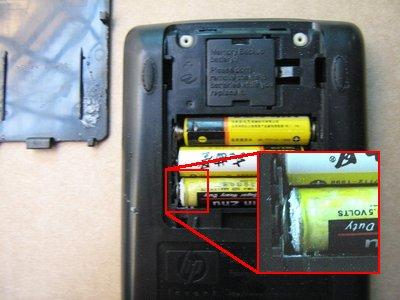 Bad batteries